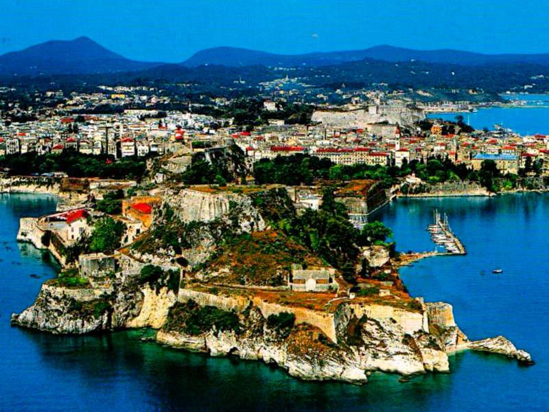 Corfu destino en grecia