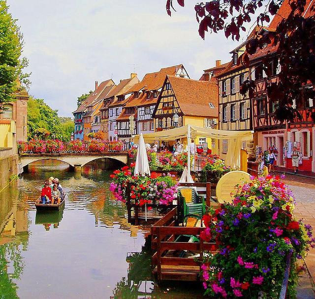 viajes con encanto por francia colmar